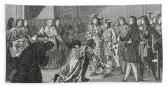 Louis Xiv The Sun King 1638 To 1715 Hand Towel