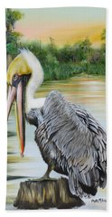 Louisiana Sunrise Bath Towel by Phyllis Beiser