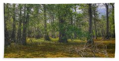 Louisiana Swamp Hand Towel