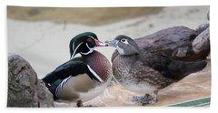 Love Ducks Hand Towel