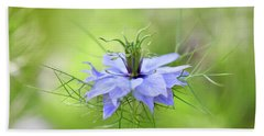 Love-in-a-mist Bath Towel