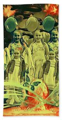 Love In The Age Of War Bath Towel by Vennie Kocsis