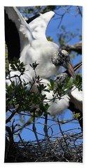 Love Is In The Air Hand Towel by Lamarre Labadie