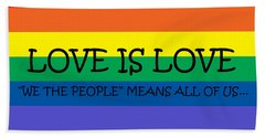 Love Is Love Hand Towel