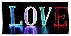 Love Lights Hand Towel