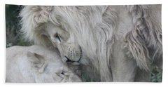 Love Lions Bath Towel