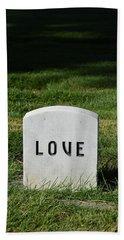 Love Monument Bath Towel