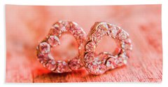 Hand Towel featuring the photograph Love Of Crystals by Jorgo Photography - Wall Art Gallery