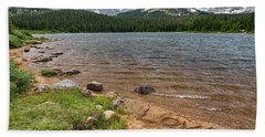 Love The Colorado Rocky Mountains Hand Towel