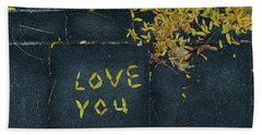 Love You Hand Towel