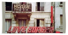 Loveburger Hotel Hand Towel