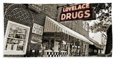 Lovelace Drugs Hand Towel