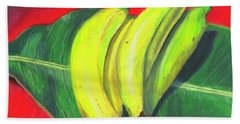 Lovely Bunch Of Bananas Bath Towel