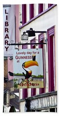 Lovely Day For A Guinness Macroom Ireland Bath Towel