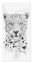 Lovely Leopard Hand Towel