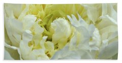 Hand Towel featuring the photograph Lovely Peony by Sandy Keeton
