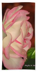 Hand Towel featuring the photograph Lovely by Phyllis Beiser