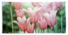 Lovely Tulips Hand Towel