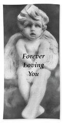 Loving Angel  Hand Towel