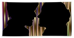 Hand Towel featuring the digital art Loving Couple - Chuck Staley by Chuck Staley
