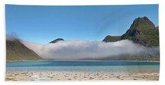 Low Clouds Above Boosen Hand Towel