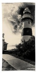Low Head Lighthouse Bath Towel