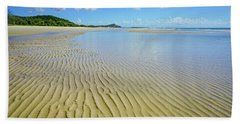 Low Tide Beach Ripples Hand Towel