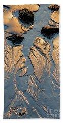 Low Tide Flow, Kettle Cove, Cape Elizabeth, Maine  -66557 Bath Towel