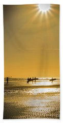 Bath Towel featuring the photograph Low Tide by Mitch Shindelbower