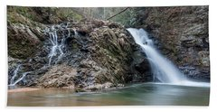 Lower Brasstown Falls Bath Towel