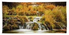 Lower Cascades At Cascade Springs Hand Towel