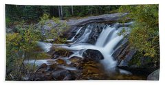 Lower Copeland Falls Hand Towel by Gary Lengyel