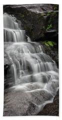 Lower Falls Cascade At Triple Falls Hand Towel