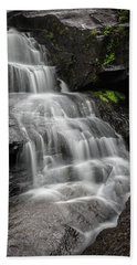 Lower Falls Cascade At Triple Falls Bath Towel