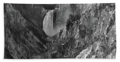 Lower Falls Hand Towel by Sheila Ping
