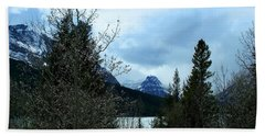 Lower Two Med Lake Through The Trees Hand Towel