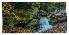 Lower Upper Creek Falls Hand Towel