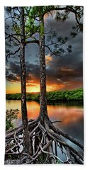 Loxachatchee Sunset Bath Towel