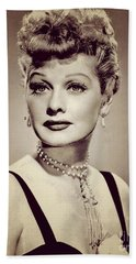 Lucille Ball, Vintage Actress Hand Towel
