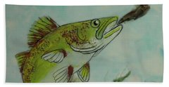 Lunch Bath Towel by Terry Honstead