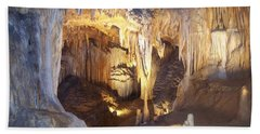 Luray Caverns Bath Towel by Richard Bryce and Family