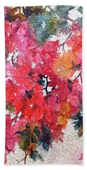 Luscious Bougainvillea Bath Towel