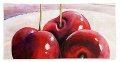 Luscious Cherries Hand Towel
