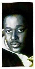 Luther Vandross - Singer  Bath Towel