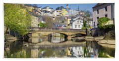 Luxembourg City Bath Towel by JR Photography