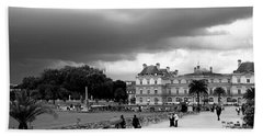 Luxembourg Gardens 2bw Hand Towel