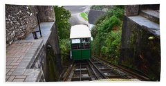 Lynton And Lynmouth Cliff Railway Hand Towel