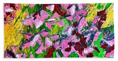 Lyrical Abstraction 201 Hand Towel