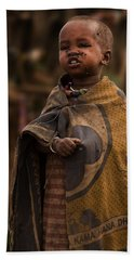 Maasai Boy Hand Towel