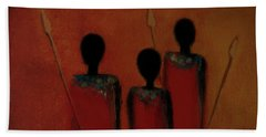 Maasai Trio  Hand Towel
